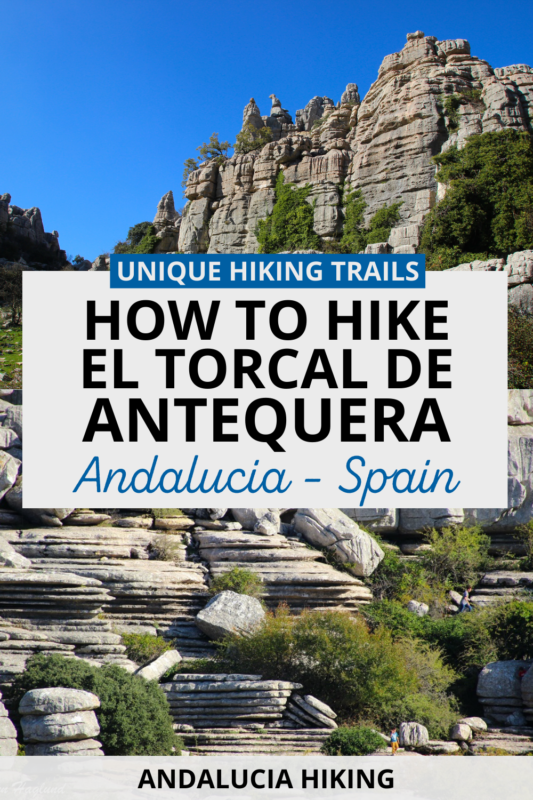 Are you eager to walk in the middle of the most unique karst landscape in Europe? This complete guide to hike in El Torcal de Antequera takes you through all the hiking trails. These are some of the best hikes in Spain for families too with a lot of wildlife spottings. Find out how to hike El Torcal de Antequera Spain and start planning your Europe travel now.