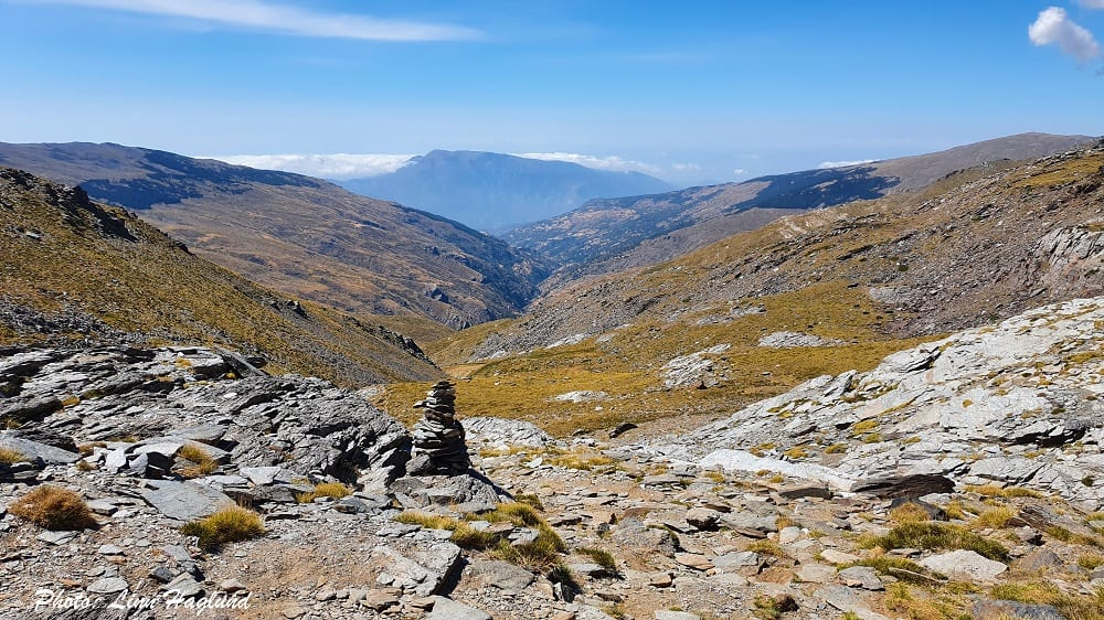 Make sure you turn around to take in the views when you hike Mulhacen