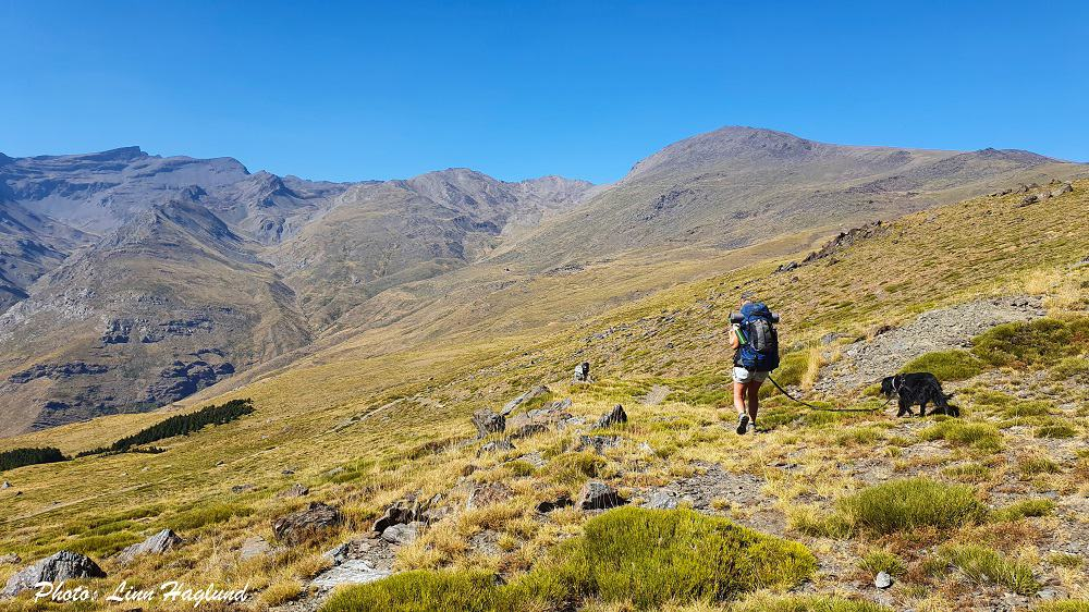 Mulhacen hiking in two days