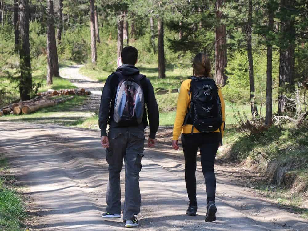 sustainable backpacks for day hikes