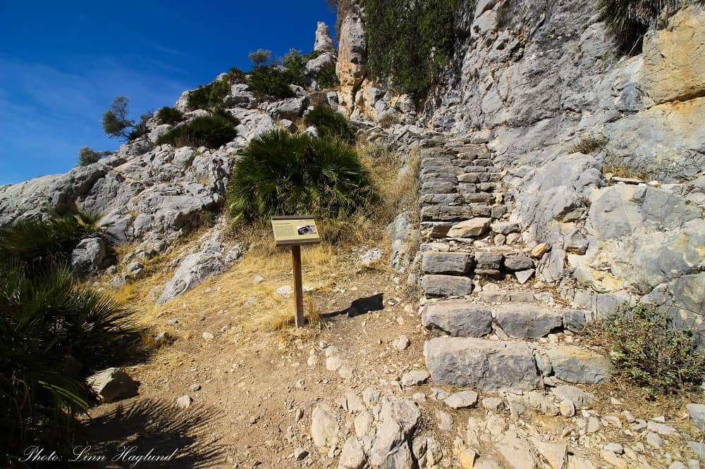 Arabic Staircase is one of the top hikes near Malaga