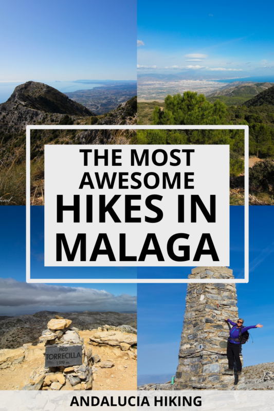 Are you looking for amazing hiking routes in Malaga Spain, then I've got you covered! This round up takes you through the absolute best hikes in Malaga Spain whether you like to hike the highest peak or through deep canyons, in rivers, or on forest trails. Recommended by a local! #spaintravel #andalucia
