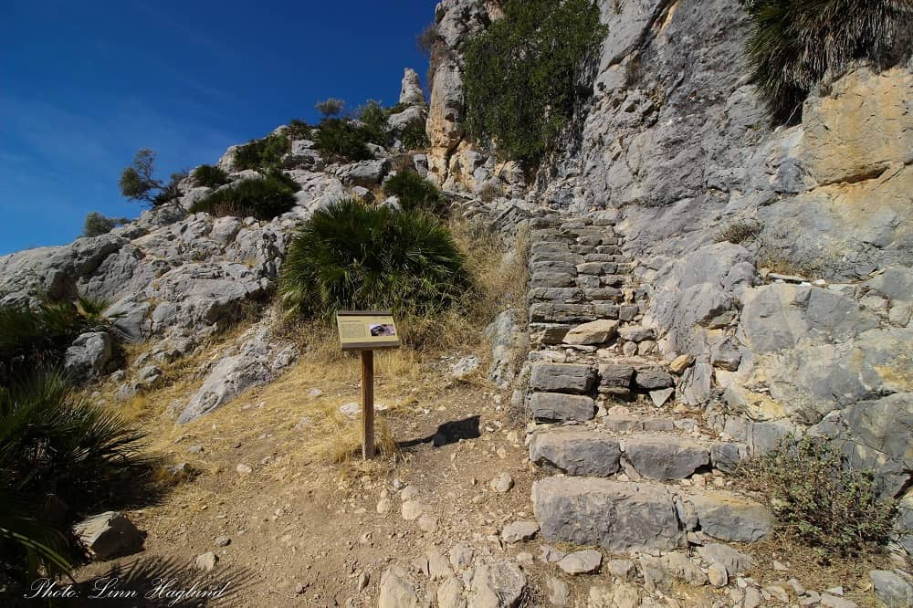 Arabic Staircase - beginenr walking trails in Andalucia