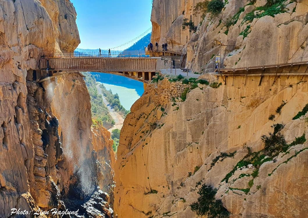 El Caminito del Rey is an easy beginner hike in Andalucia