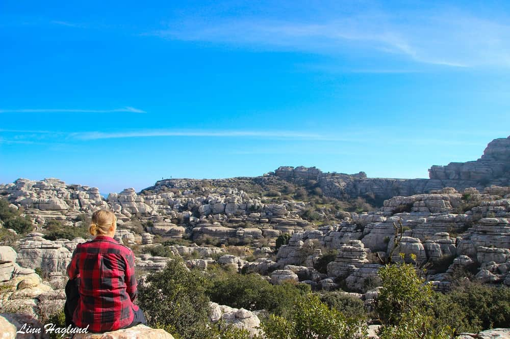 El Torcal de Antequera have great day hikes for beginners